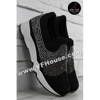 Дамски маратонки 16-IT2803 786-2 Black