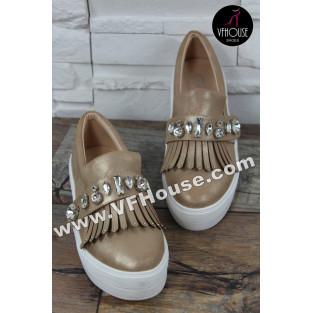 Обувки 16-IT2803 3118 Gold