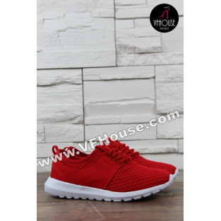 Дамски маратонки 16-IT2803 2069 Red