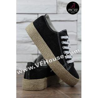Обувки 16-IT2803 115-5A Black