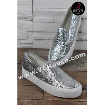 Обувки 16-IT2803 HF59 Silver