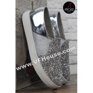 Обувки 16-IT2803 V524 Silver