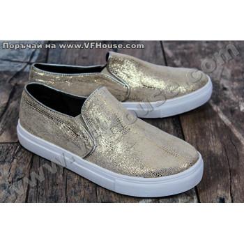 Обувки 73105 Gold