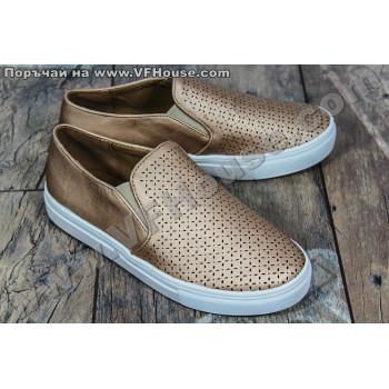 Обувки 73107 Gold