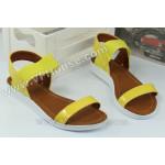 Сандали 15-2707 01 Yellow
