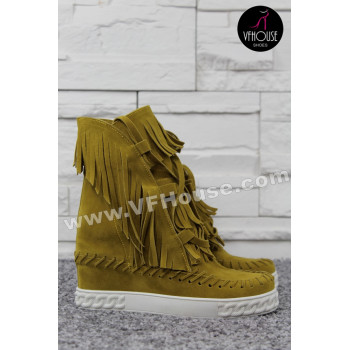 Летни боти 16-MC0104 01 Yellow