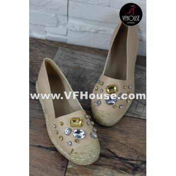 Обувки 16-1604 RMD6 Beige