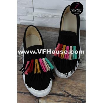 Обувки 16-SB2004 07 Black